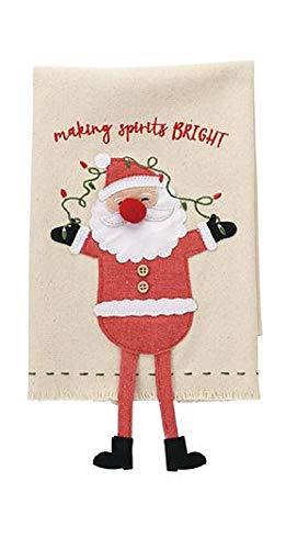 (Santa Christmas Character Dangle Leg Towels, 21