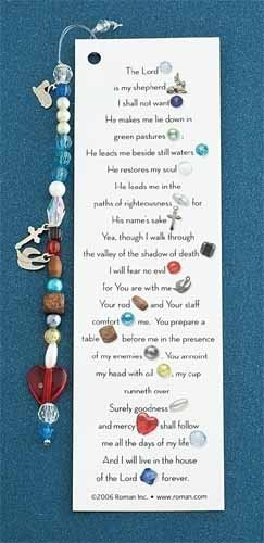 UPC 009312165889, Club Pack of 24 Stories of Faith 23rd Psalm Prayer Religious Bookmarks 5.75""