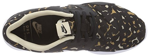 Nike Kaishi Run Stampa Damen Sneakers Mehrfarbig (nero / Bianco-deserto Camo-rattan 012)