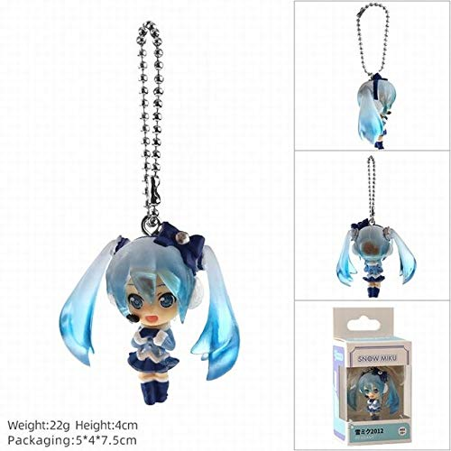 EXTOY Anime Vocaloid Action Figure Mini Model Doll Keychain Snow Miku Kagamine Rin Len Meiko Toys Pendant 4Cm Must Have Tools 5 Year Old Girl Gifts The Favourite Comic Superhero Party Decorations