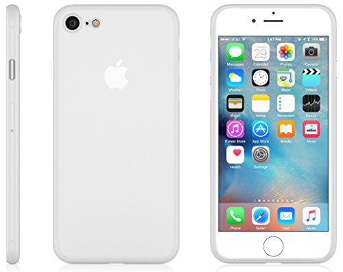 7 Mn Matte (iPhone 7 MNML Thin Case (Clear White))