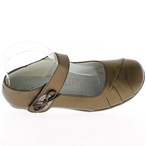 Donne nere comode scarpe tacchi alti 3,5 cm