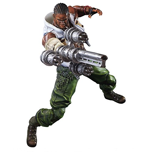 Amazon Lightning Deal 60% claimed: Play Arts Kai Play Arts-Kai-Barret Wallace Final Fantasy Vii: Advent Children