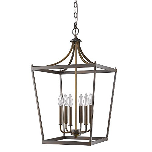 Acclaim Lighting IN11134ORB Kennedy Indoor 6-Light Pendant, Oil Rubbed Bronze