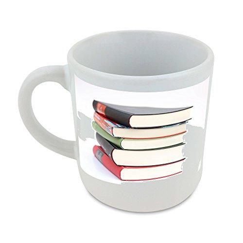 Libros, Educación, escuela, Literatura redondo taza