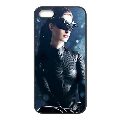 901 Anne Hathaway L coque iPhone 4 4S cellulaire cas coque de téléphone cas téléphone cellulaire noir couvercle EEEXLKNBC22425