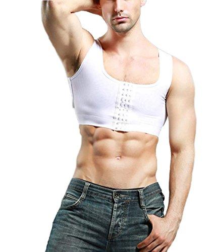 9c1f9778aee61 Men s Body Shaper To Hide Gynecomastia Moobs Compression Vest Slimming  Underwear - Buy Online in Oman.