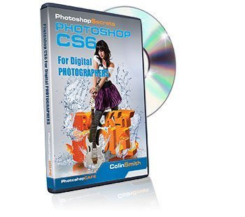 Learning Adobe Photoshop CS6 Training DVD - For Digital Photographers Tutorial Video