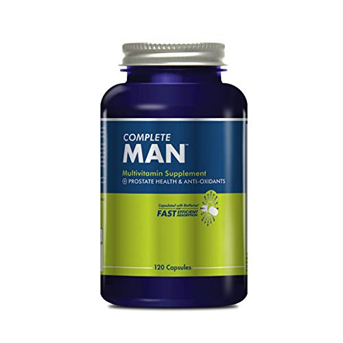 Complete Nutrition Complete Man Multivitamin, Men's Daily Multivitamin, Immune Support, Prostate Health, 120 Capsules