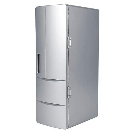 Mini refrigerador, portátil Mini USB Refrigerador Bebida Cerveza ...
