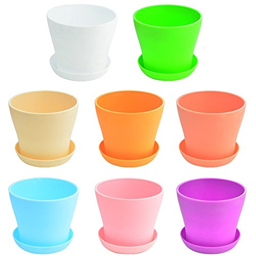 4in plastic pot - 9