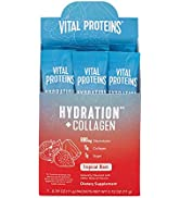 Vital Proteins Hydration Electrolyte Powder with Collagen - 1g Functional Sugar - 880mg Electroly...