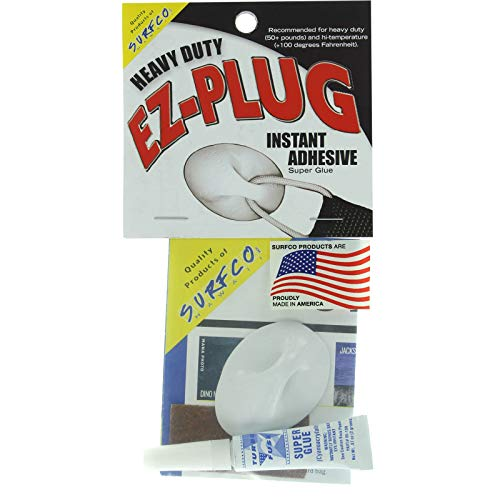 Surfco Hawaii EZ Plug White Heavy Duty Kit