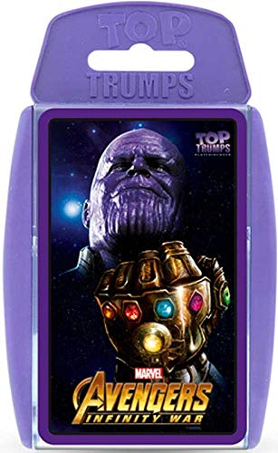 TOP Trumps - Avengers Infinity! Perfect Indoors, Travelling,