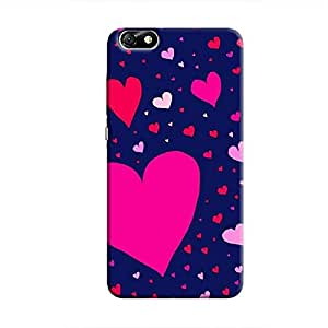 Cover It Up Flying Love Hard Case for Huawei Honor 4X - Multi Color