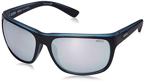 Revo Remus RE 1023 19 ST Polarized Rectangular Sunglasses, Matte Black/Grey Stealth, 62 - Donate Buy Pair Pair A A Sunglasses