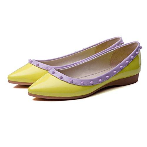 5 Giallo Scarpe Donna Stringate Yellow EU AdeeSu 35 SDC03211 Basse Z0wPqx6
