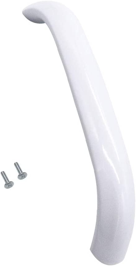 AMI PARTS 5304477398-W Door Handle Compatible with Frigidaire Microwave (White)