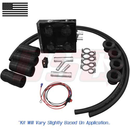 Utv Cab 12v Heater Kit For Honda SXS700M2 Pioneer 2014-2019 No Power Steering