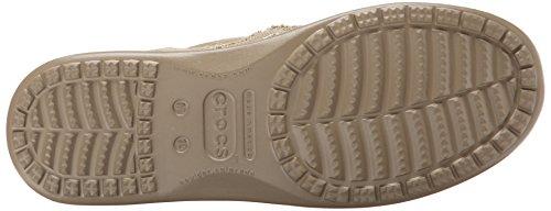 Crocs Men's Santa Cruz Loafer, Khaki Khaki, US 10