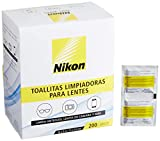 Nikon Pre-Moistened Lens Cleaning Wipes - Cleans