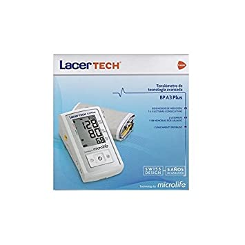 LACER TECH BP A3 PLUS TENSIOMETRO AUTOMATIC: Amazon.es: Salud y cuidado personal