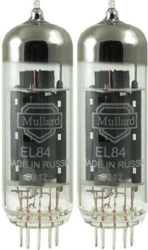 Mullard EL84, Matched Pair (2 tubes) by Mullard