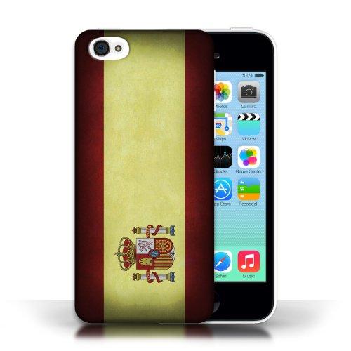 Etui / Coque pour Apple iPhone 5C / Espagne/espagnol conception / Collection de Drapeau