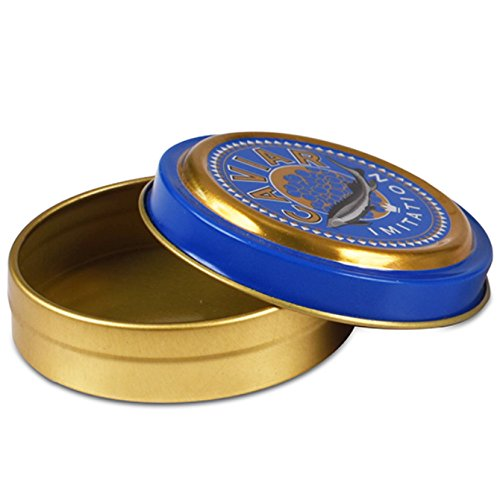 Comatec Imitation Caviar Tin - 1.5oz Capacity 12 Pack
