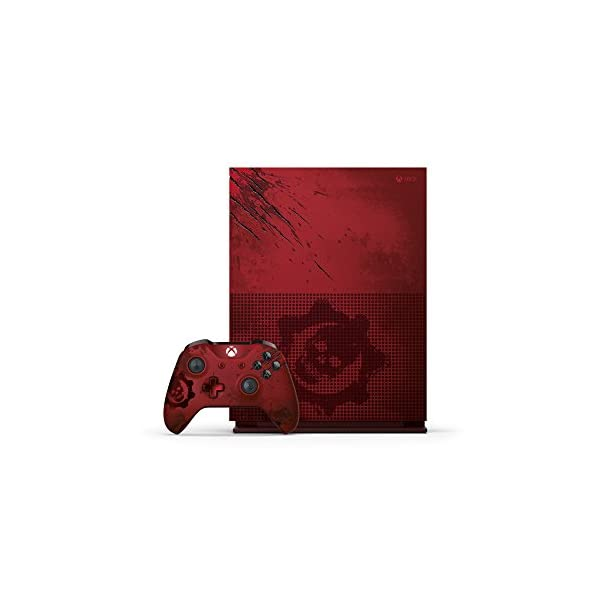 Videoentity.com 41iDeyaIwrL Xbox One S 2TB Console - Gears of War 4 Limited Edition Bundle