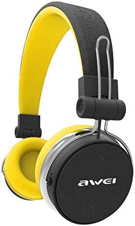 GAX Auriculares inalámbricos Auriculares Bluetooth con Auriculares F8 Altavoz Profesional Equilibrado Banda Triple Reducción de Ruido ANC, Amarillo: Amazon.es: Deportes y aire libre