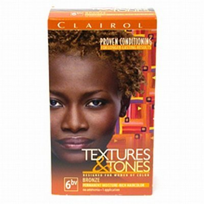 Clairol Professional Textures and Tones Permanent Hair Color, Bronze Clairol Bronze Hair Color