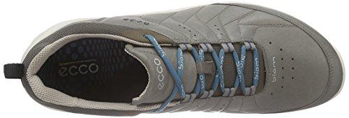 ECCO Biom Fjuel Mens, Scarpe Sportive Outdoor Uomo Grigio(warm Grey 1375)