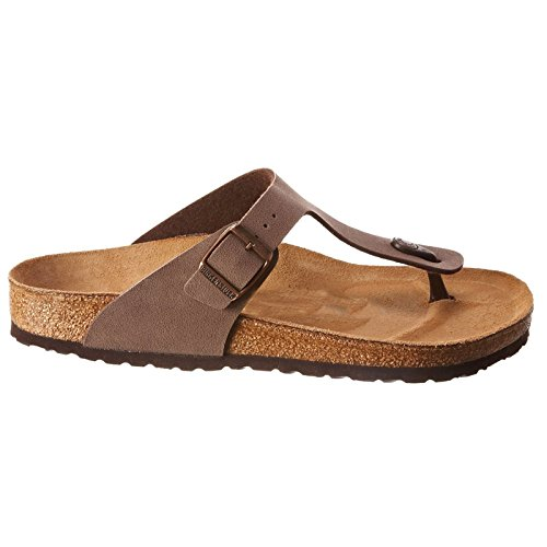 Birkenstock Women's GIzeh Thong Sandal, Mocha, 38 M EU/7-7.5 B(M) US