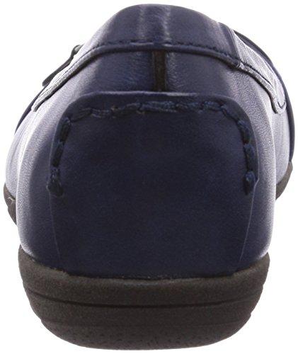 Softline 22162 - Bailarinas de material sintético para mujer azul - Blau (Ocean 829)