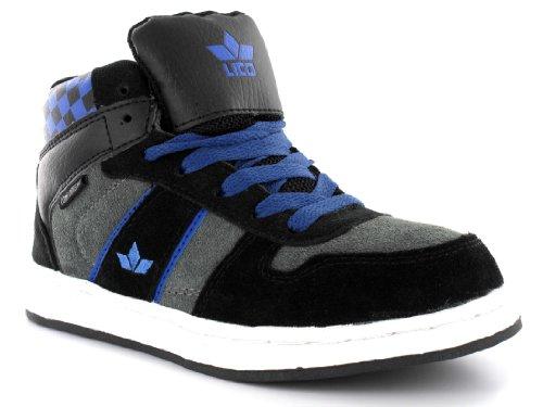 lico Ralley Tiempo Libre Guantes Joven Zapatillas Negro/Azul, Schwarz (schwarz/blau), 42 UE Schwarz (schwarz/blau)
