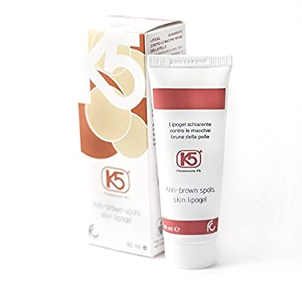 K5 Lipogel - Crema suave contra manchas marrones de la piel ...