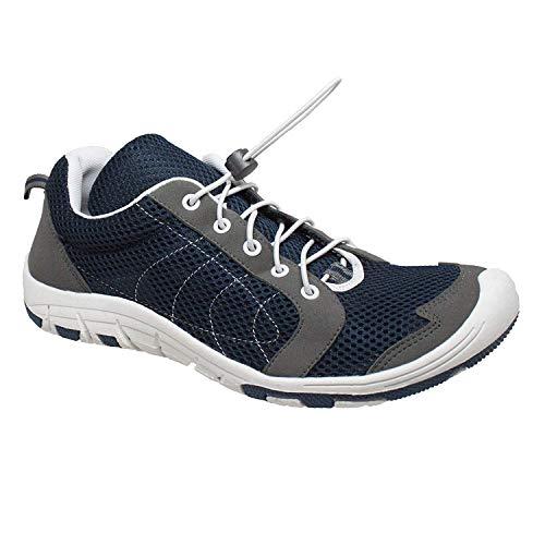 RocSoc Men's 9856-1 Water Shoe, Navy/Grey, 9 M US