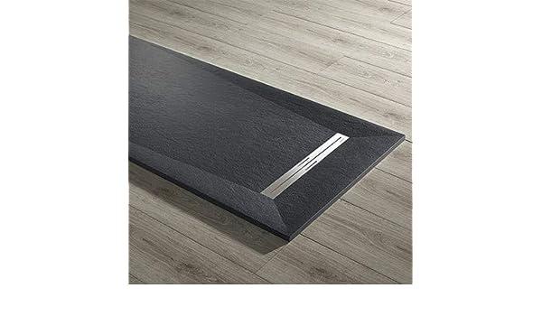 Plato de ducha ultraslim mod. Prisma 80 x 120 incluyendo desagüe de 31,8 l/min instalable de apoyo o hilo de suelo.: Amazon.es: Bricolaje y herramientas