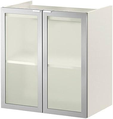 Ikea Lillangen Meuble Lavabo Avec 2 Portes Blanc Aluminium