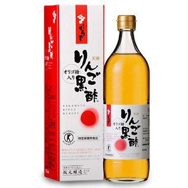 坂元の天寿りんご黒酢 700ml 3本セット B009FUKZPG