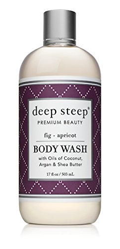 Deep Steep Argan Oil Body Wash, Fig Apricot, 17 Ounce ()