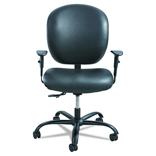 UPC 073555339109, Safco Products 3391BV Alday 24/7 Task Chair (Optional arms sold separately), Black Vinyl