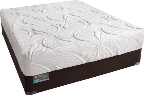 Simmons - Comforpedic Advanced Rest Luxury Firm Memory Foam Full Size Mattress and Box Spring Set (Box Simmons Spring Set)
