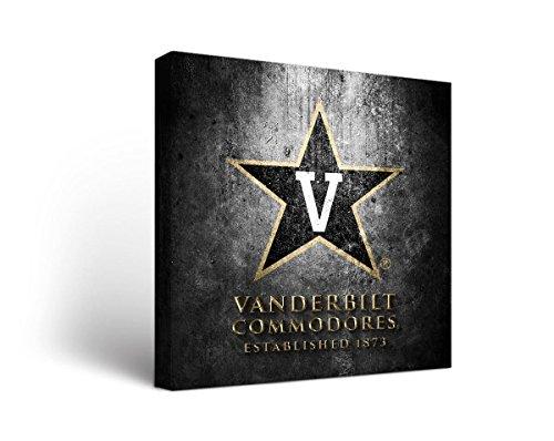 Vanderbilt Commodores Wall - Victory Tailgate Vanderbilt University Commodores Canvas Wall Art Museum Design (12x12)