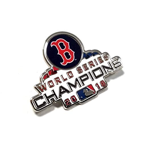 (WinCraft Boston Red Sox 2018 World Series Champions Collectible Lapel Pin)