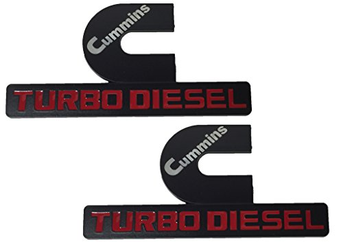 x2-black-cummins-12v-24v-4bt-6bt-turbo-diesel-emblem-replaces-oem-mopar-68276962aa-68276962ab-left-o