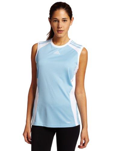 adidas Women's Elebase Jersey (Argentina Blue, White, Medium)