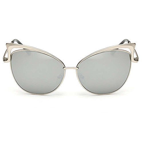 My.Monkey European And American Fashion Personality Female Cateye Metal Frame - Cheapest Sunglasses Toronto