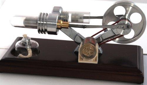 Stirling Engine with LED Light
